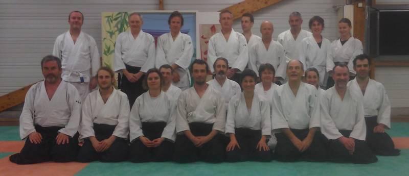 Interclub d'aïkido le 15 mars 2017 au Kiaï Club de Guipavas